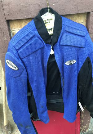 Motorcycle riding jacket, joe rocket XL for Sale in St. Peters, MO