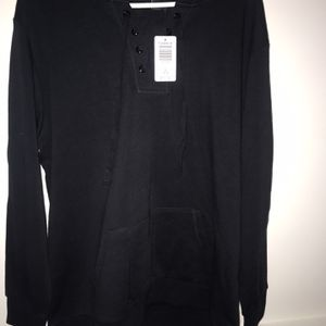 BLACK LACE UP SWEATSHIRT (RARE) for Sale in Gambrills, MD