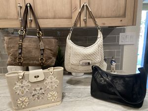 Coach purses and other authentic name brand handbags for Sale in Glendale, AZ