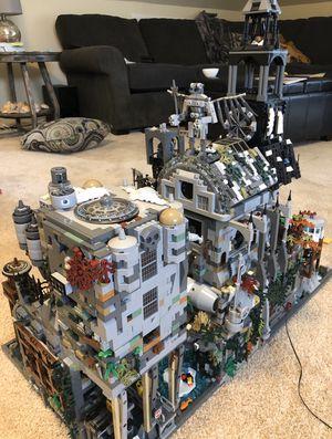Massive custom lego modular Batman Arkham asylum for Sale in Raleigh, NC