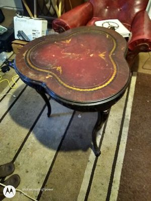 Antique French provincial heart-shaped ornate table for Sale in Anderson, SC