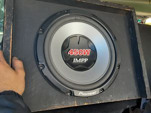 """2 12"""" PIONEER SUBWOOFERS IN BOX for Sale in Oakland, CA"""