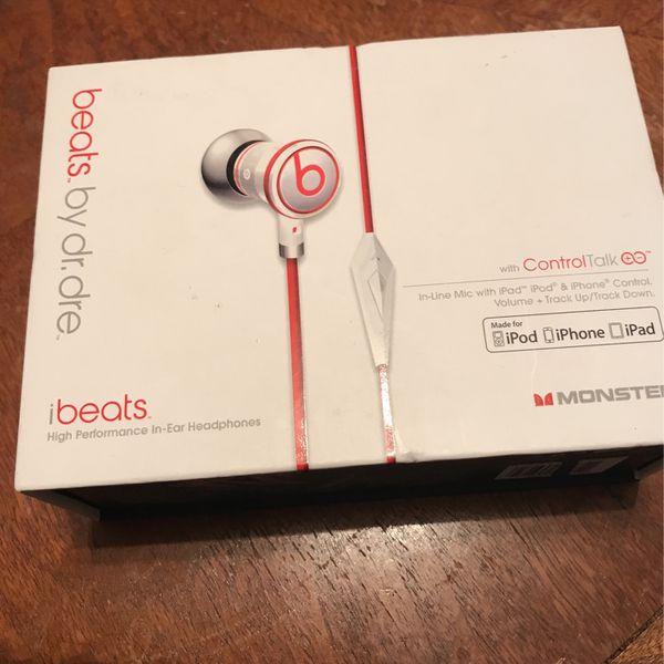 Beats By Dr Dre In Ear Headphones
