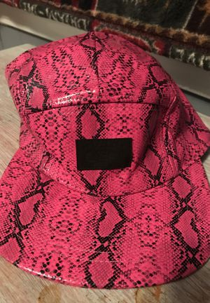 Pink Snake Skin Hat for Sale in New Bedford, MA