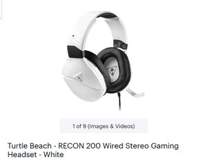 Turtle beach headset wired for Sale in Bentonville, AR