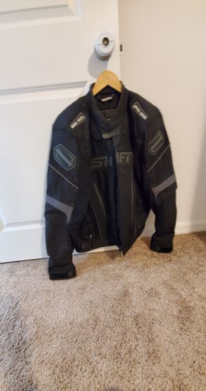 Men's Motorcycle Jacket with padding XL for Sale in Groveland, FL