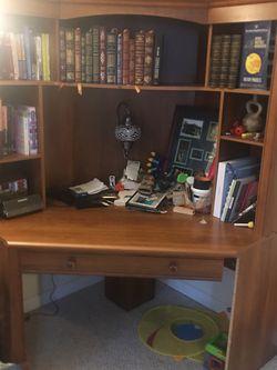 Large Wood Desk for Sale in Reston,  VA