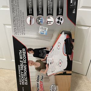 MD Sports 48 Inch Powered Hockey Table With Electronic Score Board for Sale in Mundelein, IL