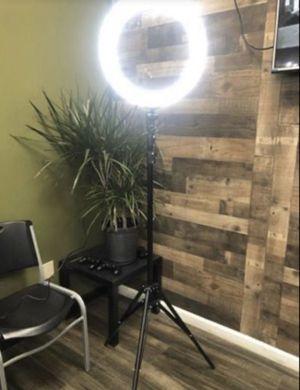 BRAND NEW LED RING LIGHT AND TRIPOD for Sale in Hemet, CA