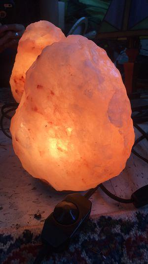 Himalayan rock salt lamp for Sale in Arcata, CA