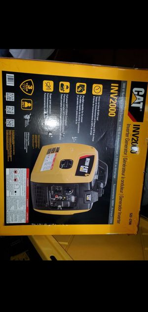 New CAT inverter GENERATOR & 80 more items posted here for Sale in Kirkland, WA