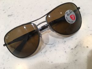 Ray Ban Sunglasses Brown Frames Polarized for Sale in Norwalk, CA