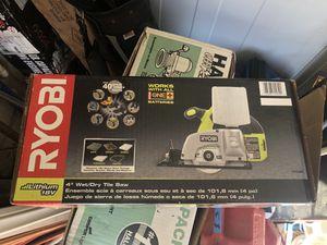 Ryobi 18V battery powered wet tile saw (tool only) for Sale in Las Vegas, NV