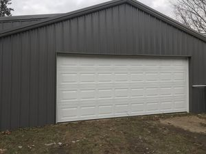 16x7 or 15x7 garage door with installation for Sale in Pittsford, NY