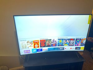 55 inch curved for Sale in Peoria, AZ