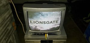 13 inch tv with 2 dvd players for Sale in Stockton, CA