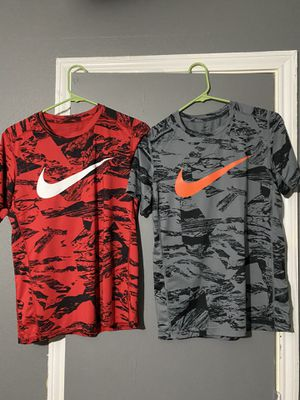 NIKE DRY FIT SHIRTS KIDS XL for Sale in Tomball, TX