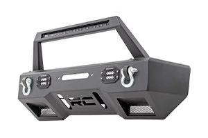 Jeep Front Stubby LED Winch Bumper w/Hoop | Black Series (07-18 Wrangler JK) for Sale in Downey, CA