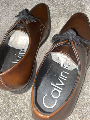 Calvin Klein men's size 7 dress shoes (NEW, NEVER WORN) for Sale in Cerritos, CA