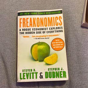 Freakonomics By Steven D. Levitt & Stephen J. Dubner for Sale in Romeoville, IL