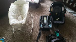 Car seat baby rocker baby backpack for Sale in Springfield, OR