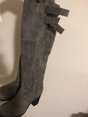 Grey boots for Sale in Hyattsville, MD