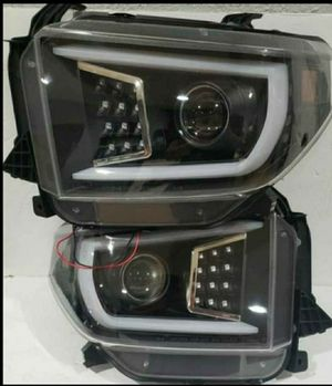 Toyota Tundra 2014-2020 Projector Headlights DRL for Sale in Phillips Ranch, CA