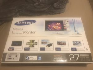"Samsung 27"" Monitor 1080p - White for Sale in East Greenwich, RI"