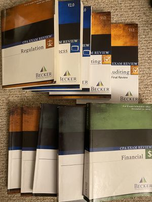 CPA exam study material full set for Sale in Watertown, MA