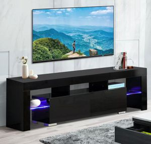Tv stand entertainment center wall unit 63 inches length for Sale in Sunrise, FL