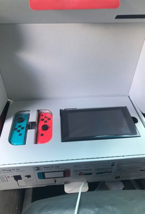 Nintendo switch brand new still sealed in plastic for Sale in Lithonia, GA