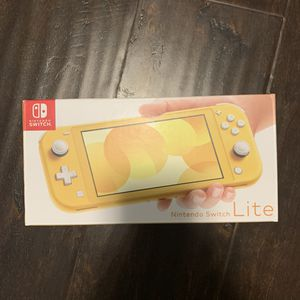 BRAND NEW Nintendo Switch Lite (Yellow) for Sale in Fountain Valley, CA