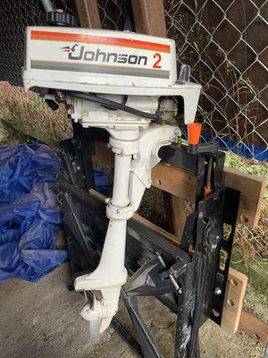 2 horse power Johnson outboard for Sale in Auburn, WA