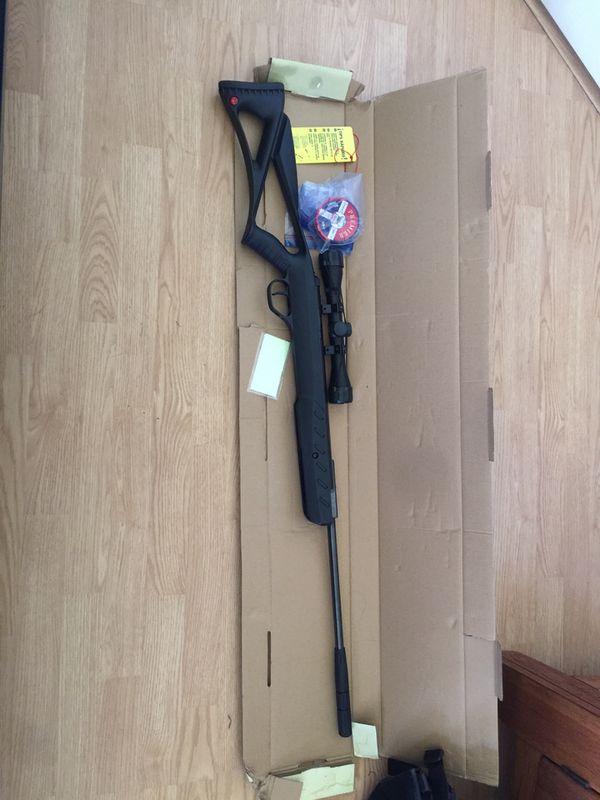 (NEGOTIABLE or TRADE)Brand New Ruger (BlackHawk Elite) .177 Caliber break barrel air rifle 1200 FPS with Alloy Pellet