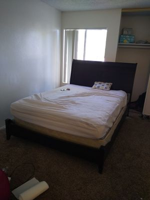 Bed frame only cresent from hao binch stock company for Sale in La Mesa, CA