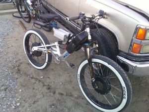 Custom build 2wd Ebike come test ride and make an offer. for Sale in Chelan, WA