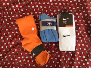 Nike and under armour soccer socks. Medium for Sale in Monterey Park, CA