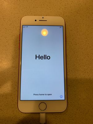 iPhone 7 limited edition Red 128gb for Sale in Richardson, TX