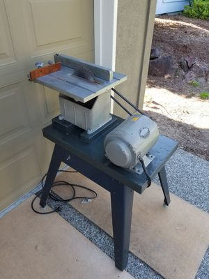 Vintage Darra James table saw - B-Line motor for Sale in Issaquah, WA