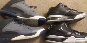 2 pairs of 6.5youth jordan shoes for Sale in San Marino, CA