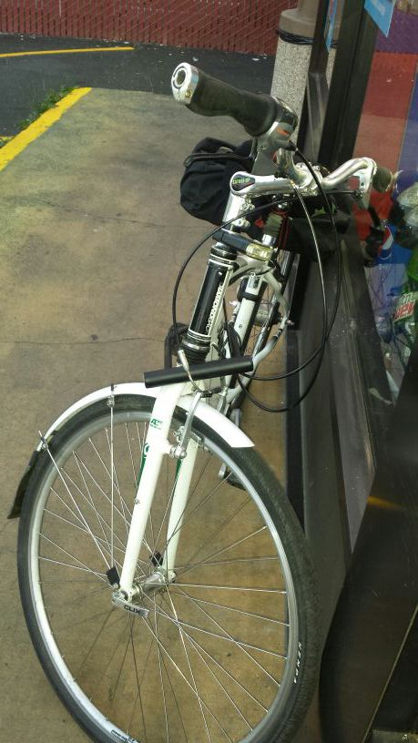 One-of-a-kind Diamondback Insight 8 speed automatic shifter in Hub gear shifting