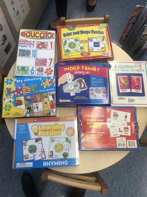 Educational puzzles for Sale in Manville, NJ