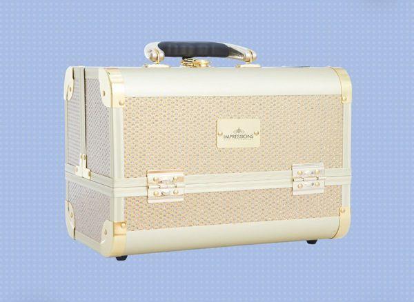 WILLING TO NEGOTIATE Impressions Vanity Slaycase Mini Makeup Travel Case | Makeup Bag | Cosmetic Storage | Makeup Train Case