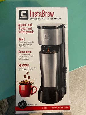 Chefman instabrew single serve coffee maker for Sale in Saint Charles, MO