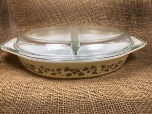 Vintage Pyrex Gold Acorn with Lid for Sale in San Diego, CA
