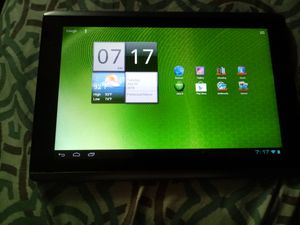 Acer A500 tablet & charger for Sale in Bristol, PA
