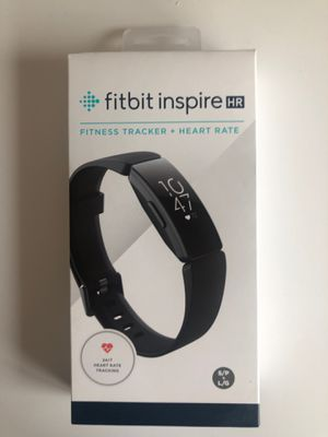 Fitbit Inspire HR Heart Rate and Fitness Tracker, One Size (S and L Bands Included) Brand New for Sale in Seattle, WA
