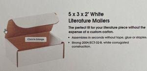 """White 5x3x2"""" mailers for Sale in Pleasant Ridge, MI"""
