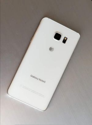 Samsung Galaxy Note 5, Factory Unlocked.. Excellent Condition. for Sale in Springfield, VA