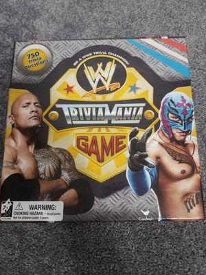 WWE Trivia Mania Board Game for Sale in East Norriton, PA